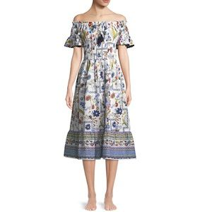 Tory Burch Meadow Folly Dress, size small